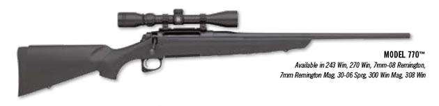 Remington Model 770 with Scope