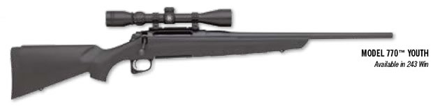 Remington Model 770 Youth Rifle with Scope