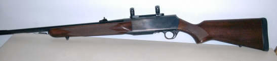 Browning BAR cal. 270 Winchester with scope rings and mounts